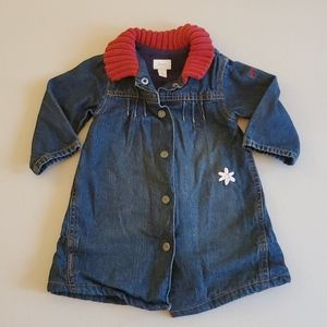 Mexx Denim Dress L/S 4-6 Months